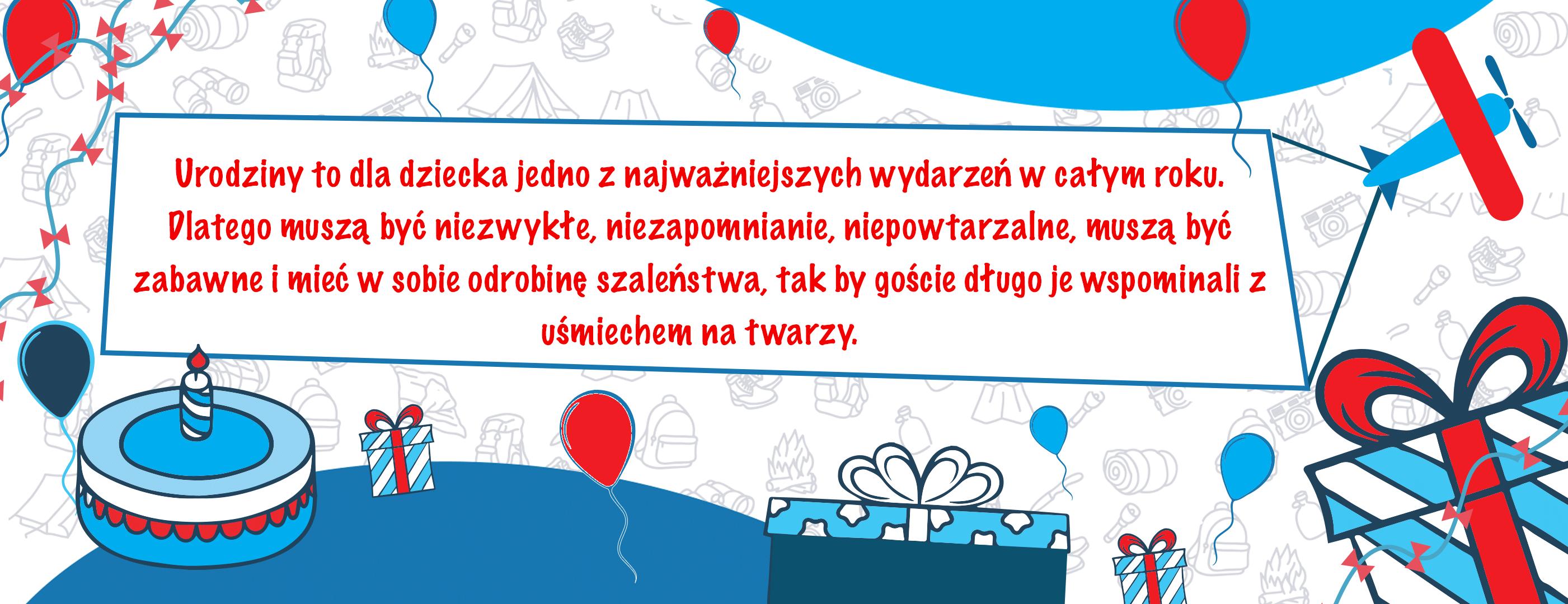 organizacja urodzin dla dzieci
