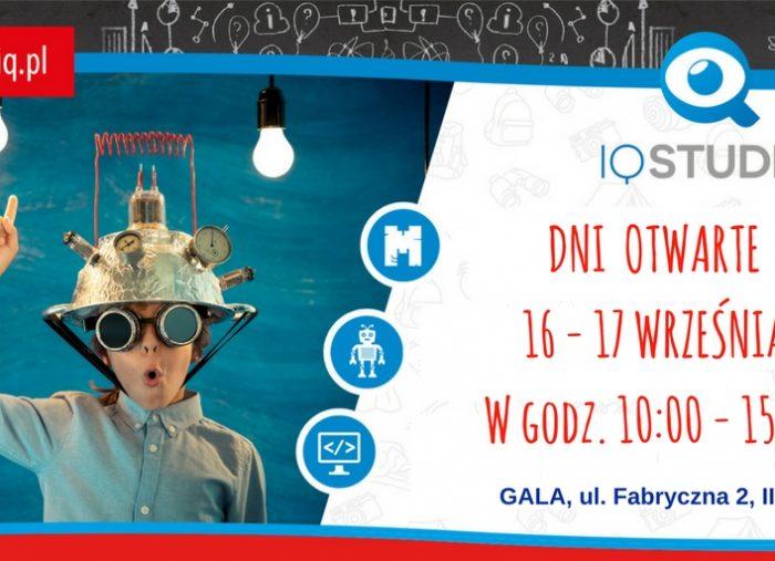 Dni otwarte w IQ Studio 16-17 września